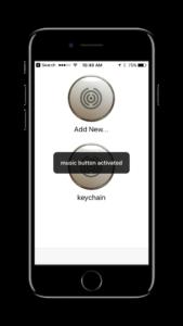 Button Magic screenshot show push notifications in app