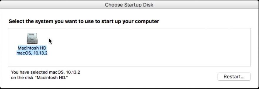 Startup Disk App